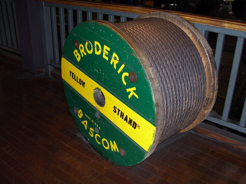 broderick and bascom wire in the san francisco cable car museum