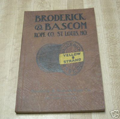 broderick and bascom 1934 catalog